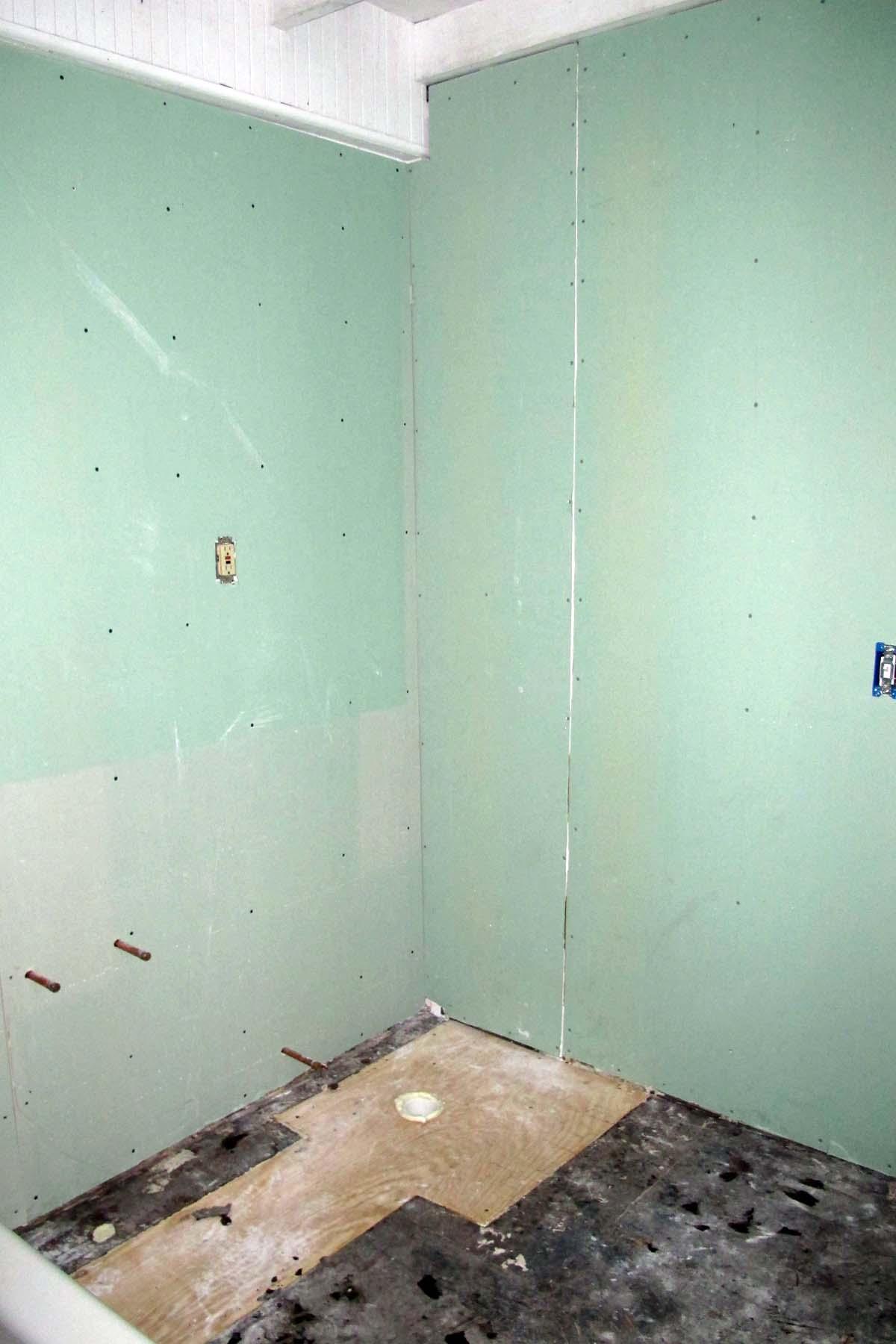 Upstairs Bathroom Renovation 2011